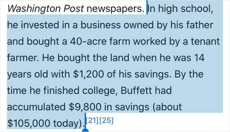Looks Like The Story About Billionaires Starting Out Poor Is Not That True…