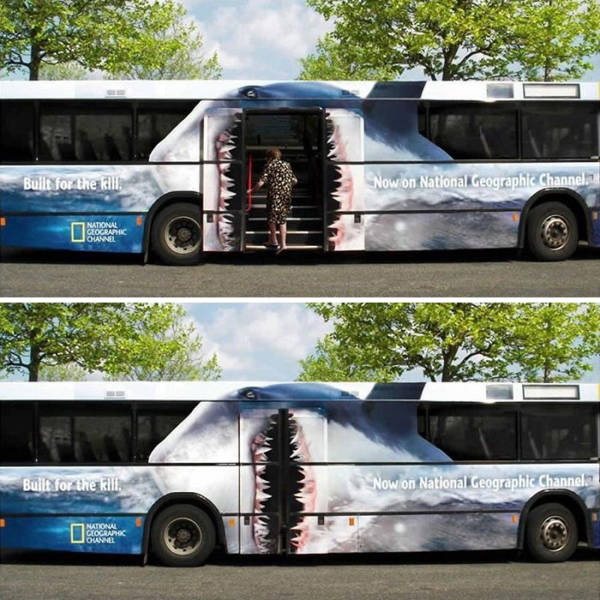 This Is How You Do Bus Advertising!