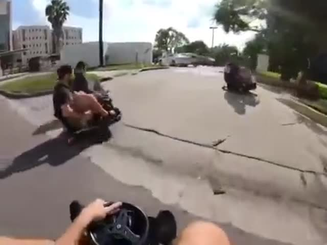 Kart Racing Game In Real Life
