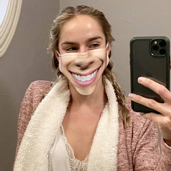When Normal Masks Are Too Boring For You…