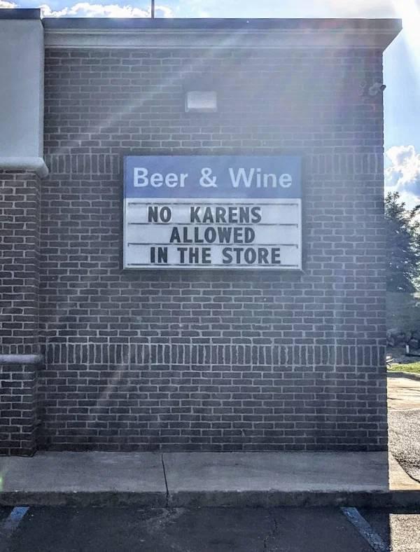 Oh No Karen, Not Again…