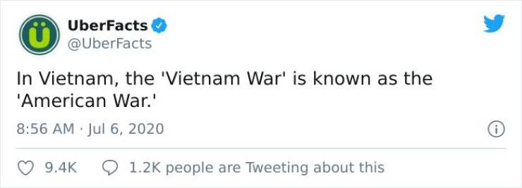 Twitter Teaches Us Interesting Facts