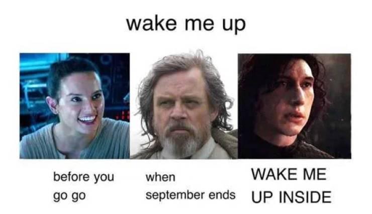 """Star Wars"" Memes From A Galaxy Far, Far Away"