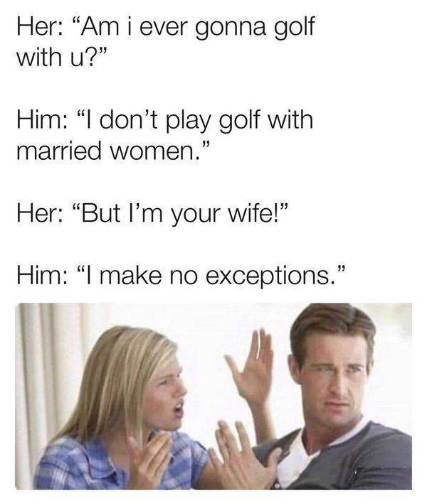 Take A Swing At These Golf Memes