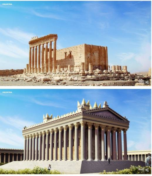 Digital Reconstructions Of How Heritage Sites Looked In Their Prime