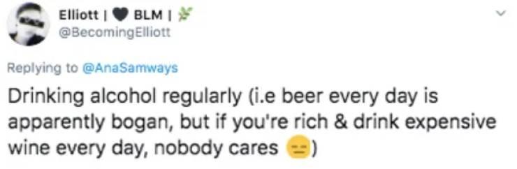 Trashy Among Poor, Classy Among Rich…