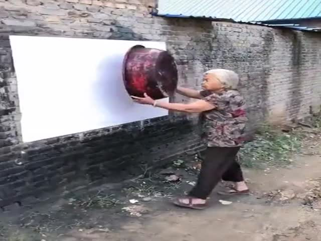 Just A Wall Painting…