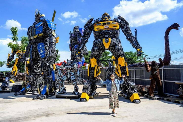 This Thai Museum Is Where Scrap Metal Gets Its Second Life