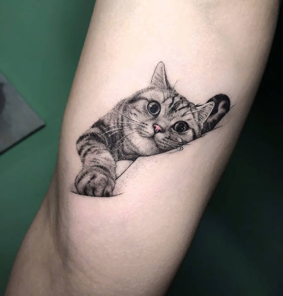 Cat Tattoos Are Great! Ask Any Cat