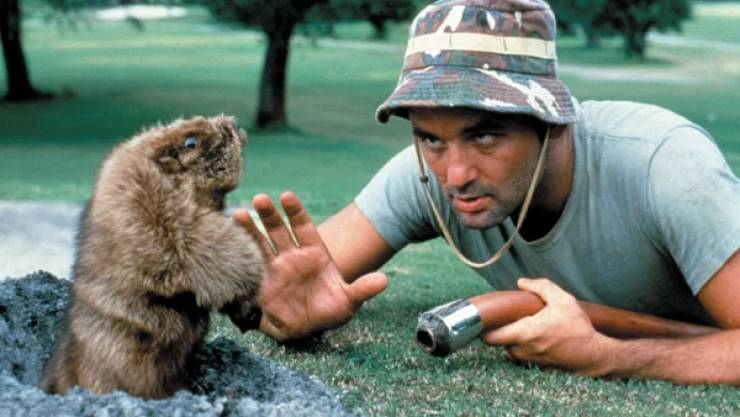 "Golf With These ""Caddyshack"" Facts!"