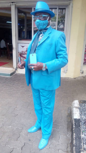 James Maina Mwangi Calls Himself The Most Stylish Man In Africa If Not The World
