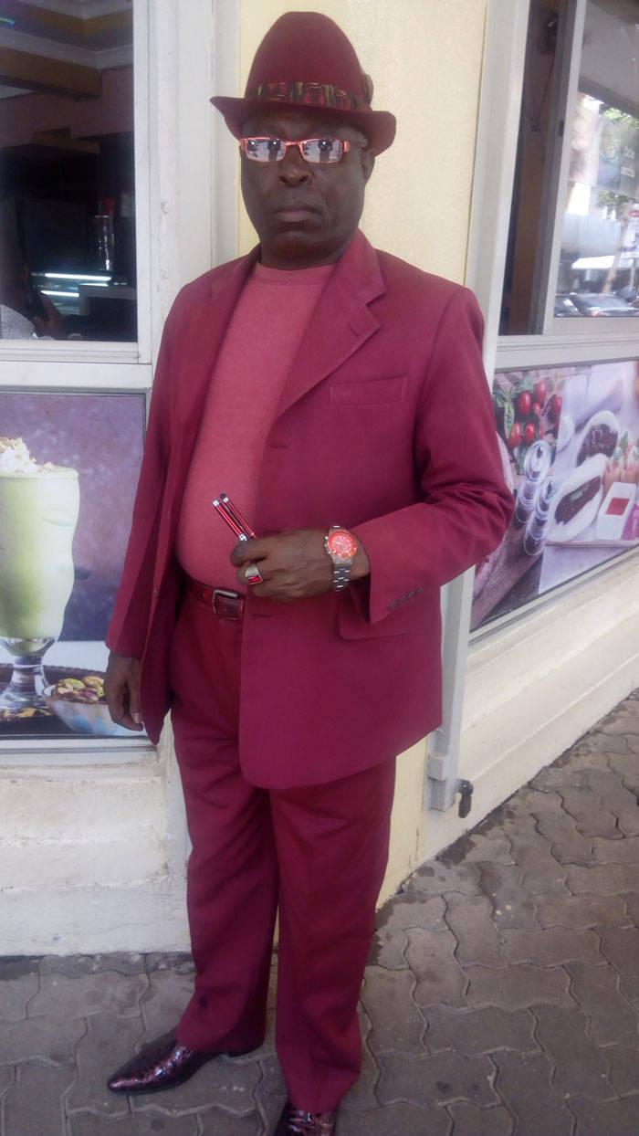 James Maina Mwangi Calls Himself The Most Stylish Man In Africa If Not The World