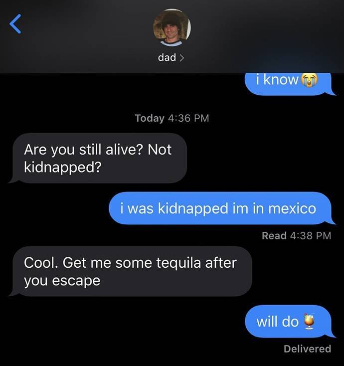 Parents Are Masters Of Funny Texts