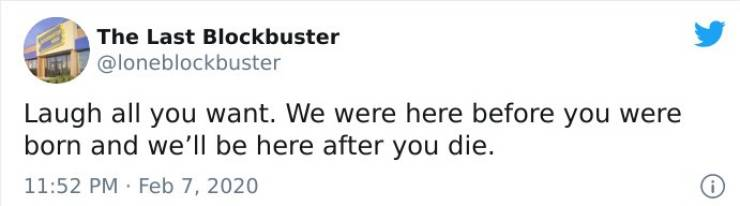 """""""The Last Blockbuster"""" Still Stands! On Twitter, At Least…"""