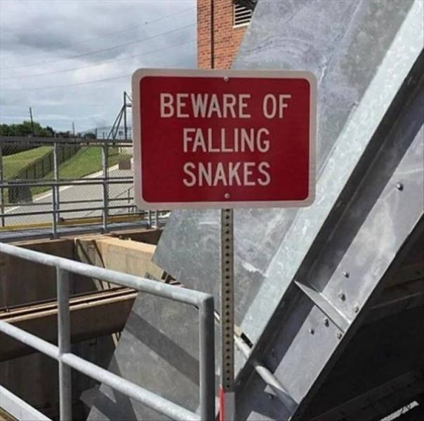 These Are Some Wacky Signs…