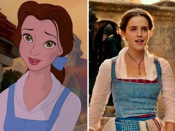 Live Action Actors And Actresses Who Looked Exactly Like Their Animated Buddies