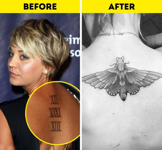 Celebs Who Got Rid Of Their Tattoos