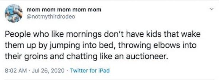 Parenting Tweets Are Kinda Sobering…
