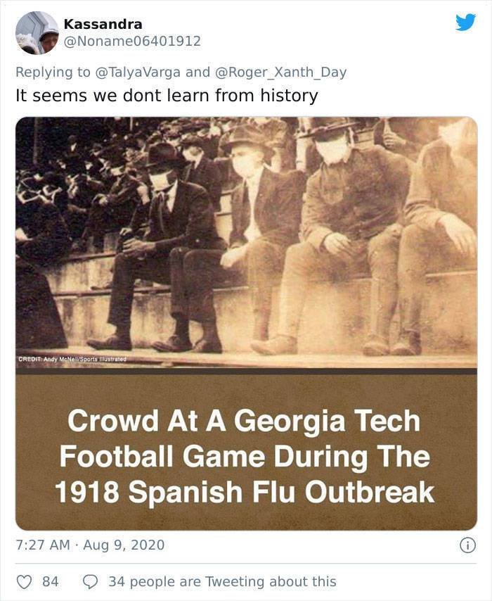 Here Are Some Spanish Flu Recommendations From 1918-1920. Sounds Familiar?