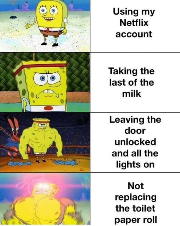 Roommates Generally Come From Hell