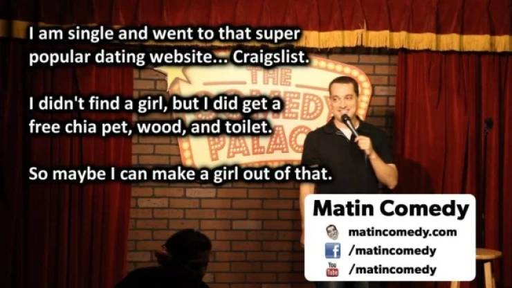 Standup Comedy Can Be Really Good