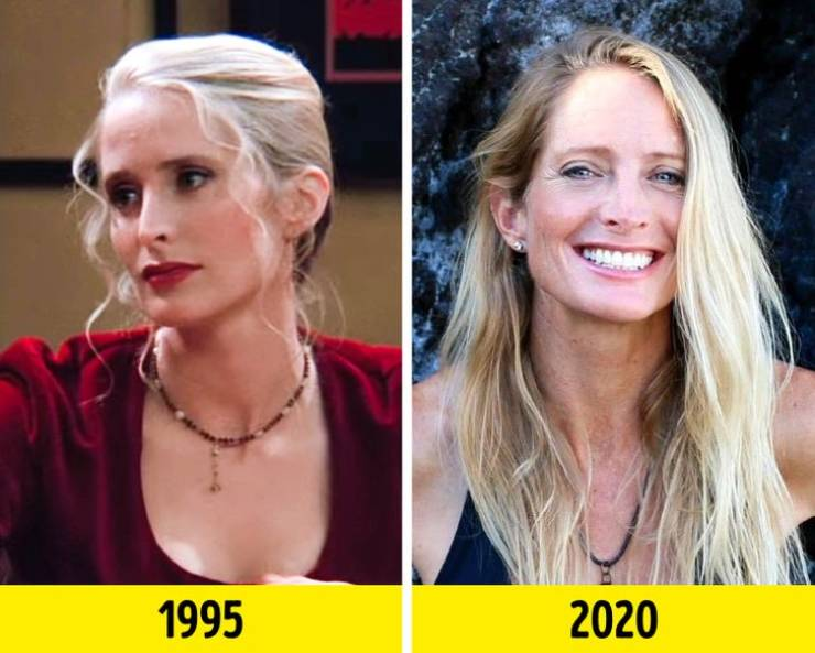 """Supporting Actors From """"Friends"""" Then And Now"""