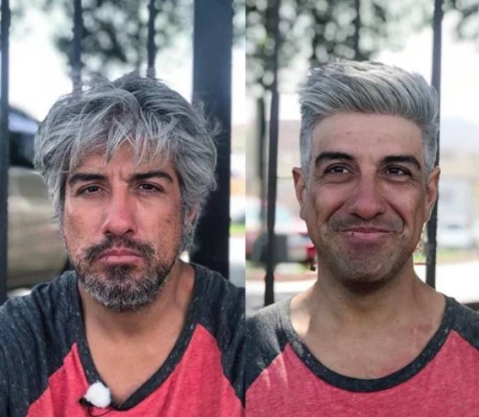 Hairdresser Gives Homeless People Free Makeovers