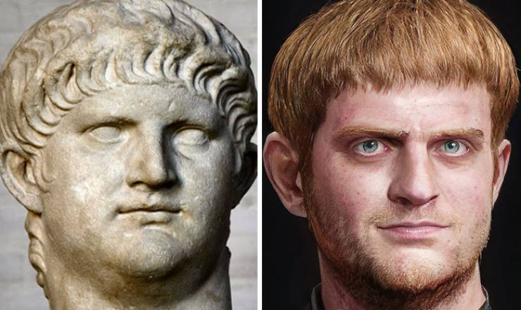 Artist Reconstructs Roman Emperor Faces Using Digital Technology
