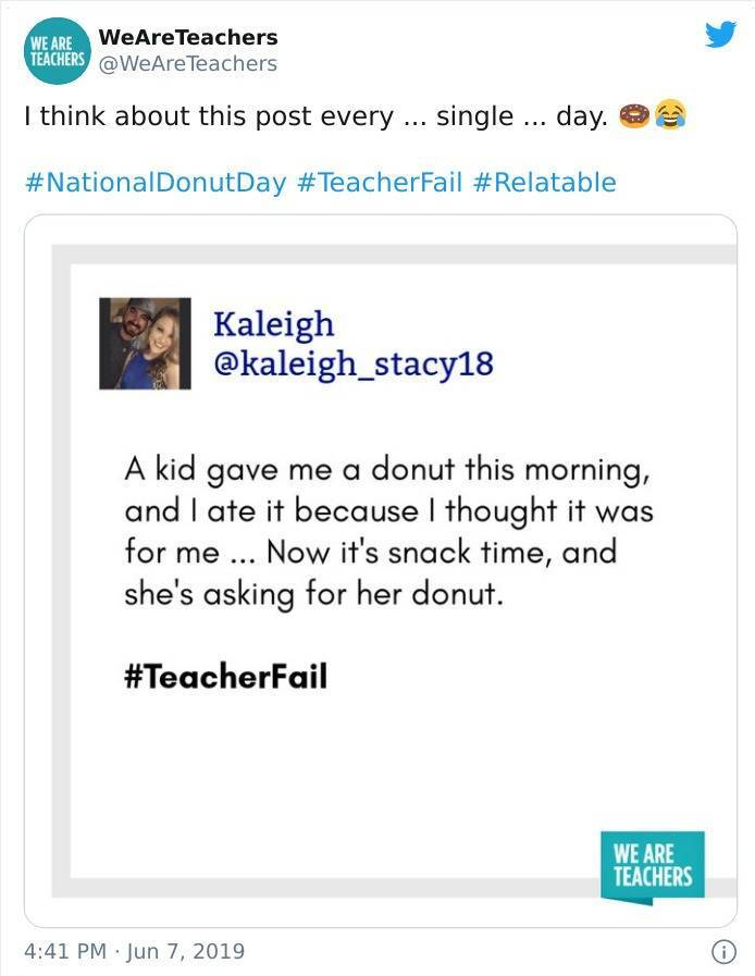 Teachers Fail Too…