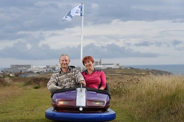 British Man Converts An Attraction Car Into A Real Car