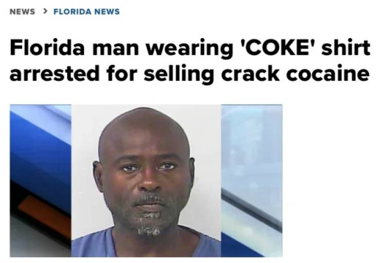 Just Another Day In Florida…