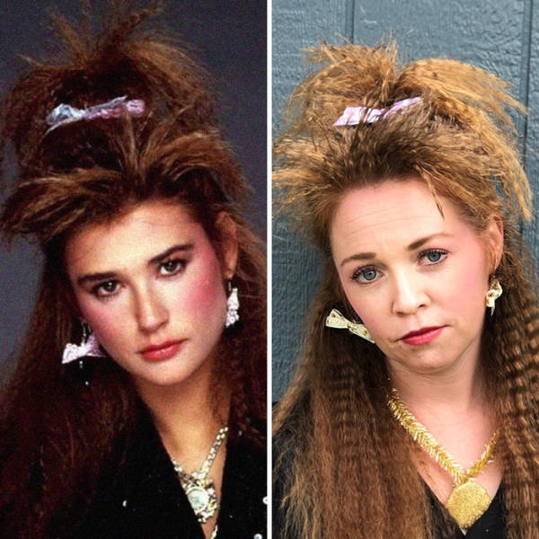 What You Could Do With Your Bangs If You Like The '80s…