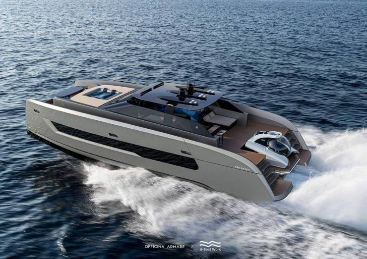 This Super-Yacht Has Its Own Submarine!