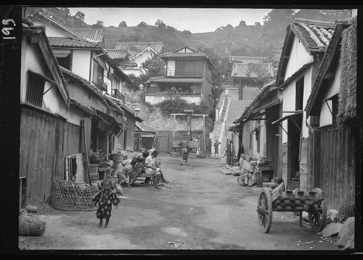 Japan More Than A Century Ago…