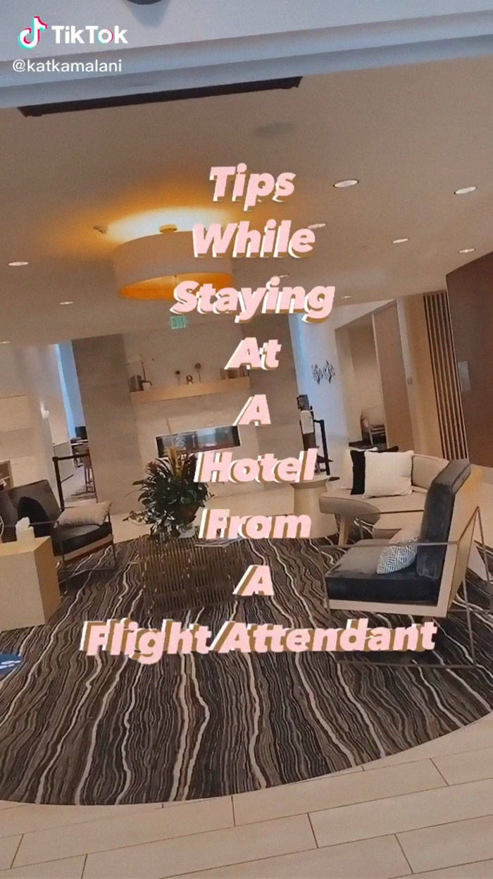 Flight Attendant Shares Some Neat Tips And Tricks For When You Are Staying At A Hotel