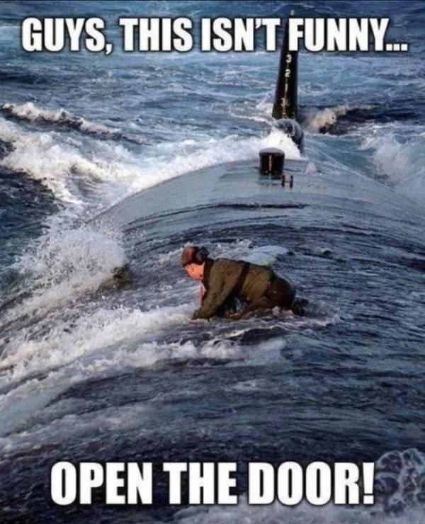 Go Underwater With These Submarine Memes