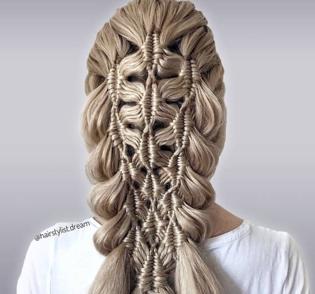 These Fantastic Crocheted Hairstyles Don't Even Look Like Hair!