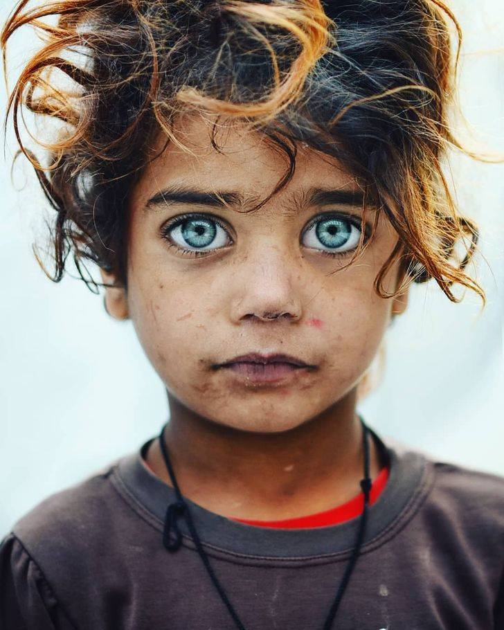 Stare Into These Children's Eyes…