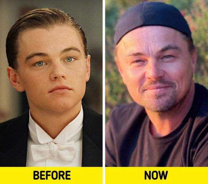 "Actors And Actresses From ""Titanic"" 23 Years Ago And Now"