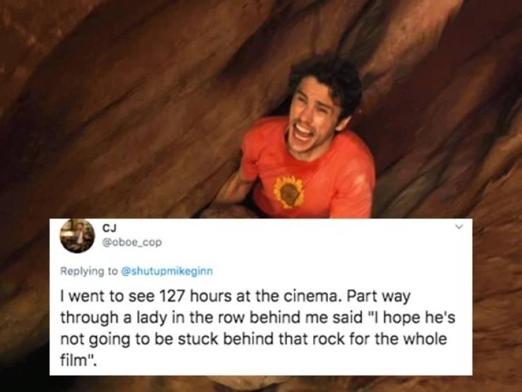 Weird Stuff Overheard At Movie Theaters