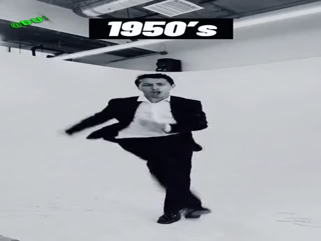 Evolution Of Dancing…