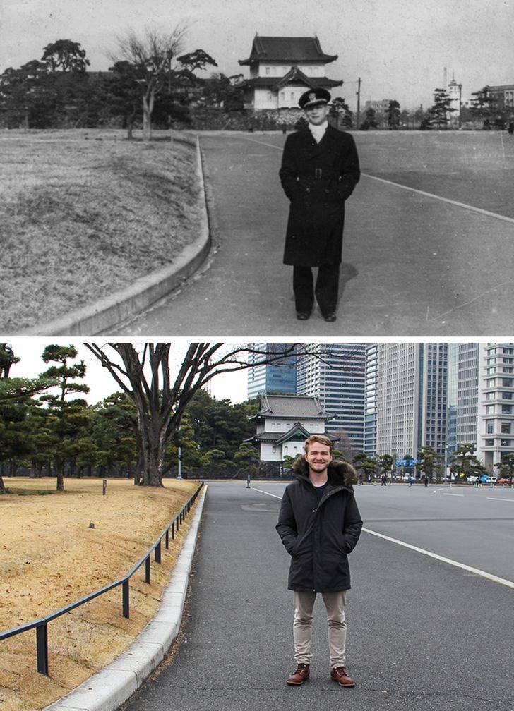 Old Family Photos Got A New Modern Twist