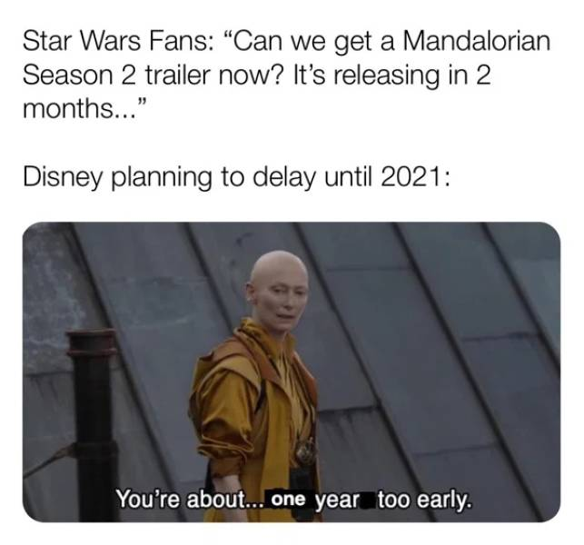 "Wait For The New ""Mandalorian"" With These Memes"