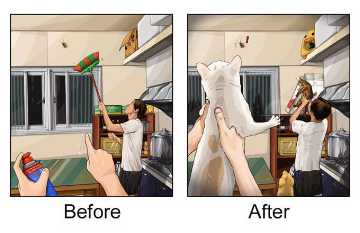 What Happens When You Finally Get A Pet…