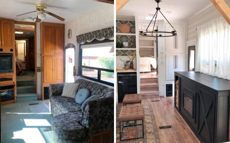 This Couple Turns Old RVs Into Fantastic Homes