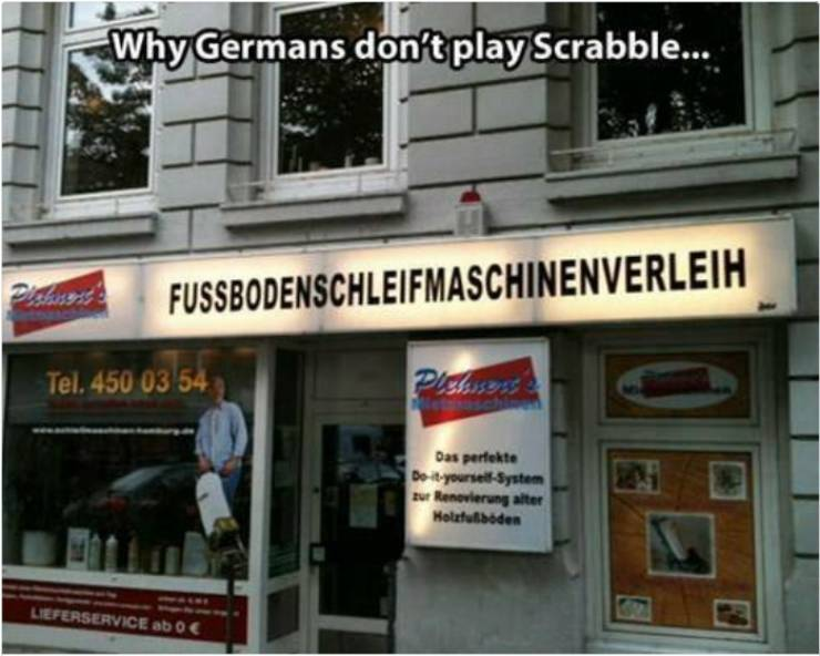 Jokes About The German Language Will Never Stop…