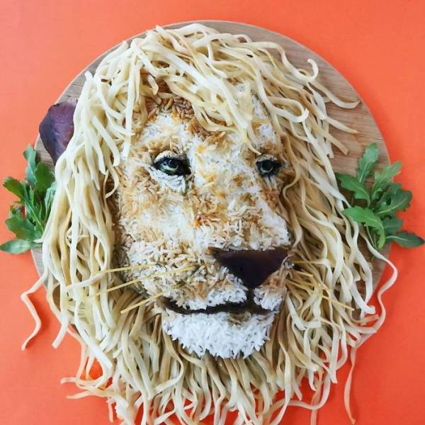 Mom Puts Her Food Art On The Internet, And It's Really Good!