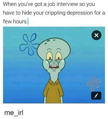 At Least Depression Goes With Memes…