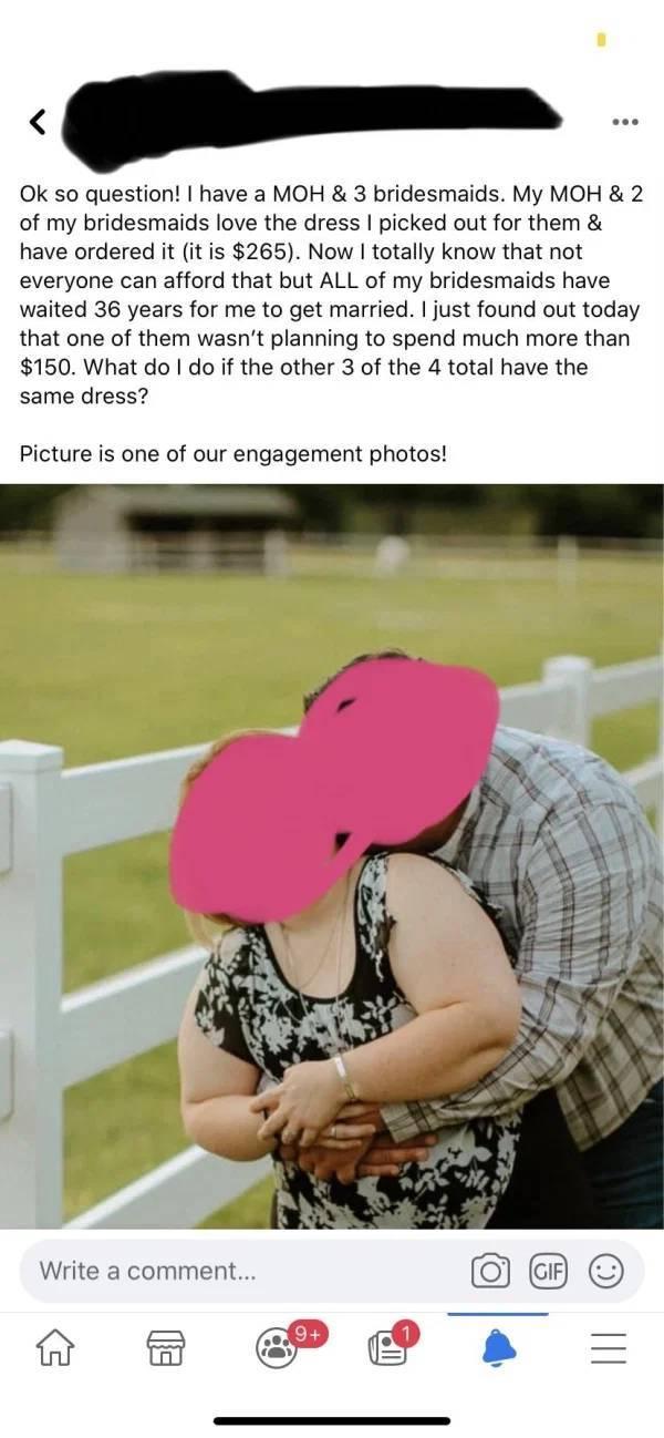Bridezillas Have No Shame…