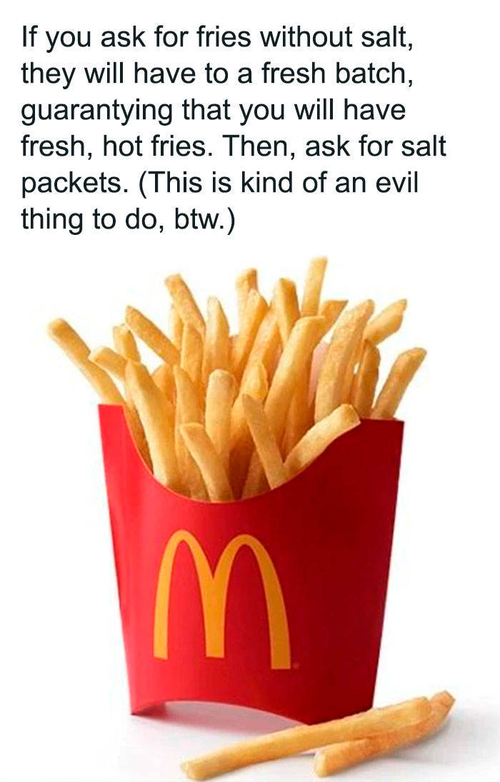 "People Are Trying To Hack The ""McDonald's"" Menu"